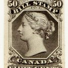 (I.B) Canada Revenue : Bill Stamp 50c (colour trial)