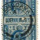 (I.B) Ceylon Telegraphs : 50c