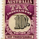 (I.B) Australia Revenue : Tax Instalment 10/-