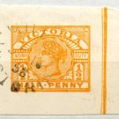 (I.B) Australia - Victoria Revenue : Stamp Duty ½d (cut-outs)