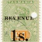 (I.B) Australia - Tasmania Revenue : Stamp Duty 1/- on £1 OP