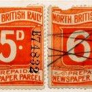 (I.B) North British Railway : Newspaper Parcel Collection