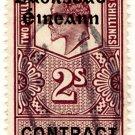 (I.B) Edward VII Revenue : Ireland Contract Note 2/- OP