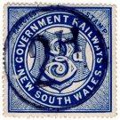 (I.B) Australia - NSW Railways Parcel 3d