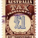 (I.B) Australia Revenue : Tax Instalment £1