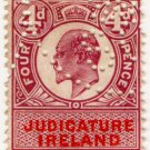 (I.B) Edward VII Revenue : Judicature Ireland 4d