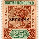 (I.B) British Honduras Revenue : Duty 25c