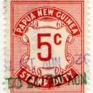 (I.B) Papua New Guinea Revenue : Stamp Duty 5c