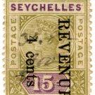 (I.B) Seychelles Revenue : Internal Revenue 4c on 15c OP