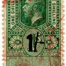 (I.B) George V Revenue : Isle of Man 1/-