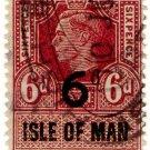 (I.B) George VI Revenue : Isle of Man 6d