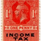 (I.B) George V Revenue : Income Tax 1d