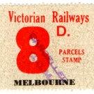 (I.B) Australia - Victoria Railways : Parcels 8d