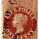 (I.B) QV Revenue : Life Policy 1d (1872)
