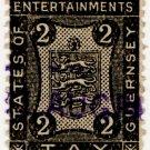 (I.B) Guernsey Revenue : Entertainments 2d