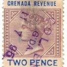 (I.B) Grenada Revenue : Duty Stamp 2d