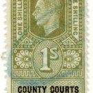 (I.B) George VI Revenue : County Courts (Northern Ireland) 1/-