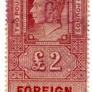 (I.B) George VI Revenue : Foreign Bill £2