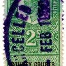 (I.B) George VI Revenue : County Courts (Northern Ireland) 2/-