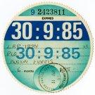 (I.B) GB Revenue : Car Tax Disc (Austin Morris 1985)