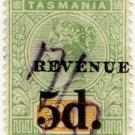 (I.B) Australia - Tasmania Revenue : Stamp Duty 5d on £1