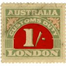 (I.B) Australia Revenue : Customs Duty 1/-