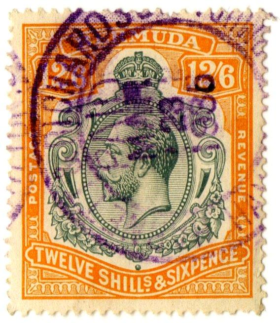 (I.B) Bermuda Revenue : Duty 12/6d