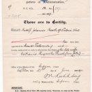 (I.B) Cape of Good Hope Revenue : Impressed Duty £1 (complete document)