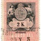 (I.B) Austria/Hungary Revenue : Stempelmarke 2K