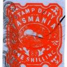 (I.B) Australia - Tasmania Revenue : Impressed Duty 1/-