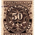 (I.B) Canada Revenue : Quebec Registration 50c