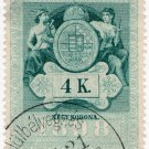(I.B) Austria/Hungary Revenue : Stempelmarke 4K