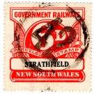 (I.B) Australia - NSW Railways Parcel 6d (Strathfield)