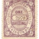 (I.B) Universal Telegraph Company : 1/- Lilac & Lilac