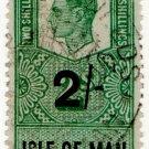(I.B) George VI Revenue : Isle of Man 2/-