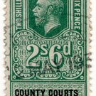 (I.B) George V Revenue : County Courts (Northern Ireland) 2/6d