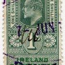 (I.B) Edward VII Revenue : Ireland Registration of Deeds 1/-