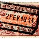 (I.B) Belgium Railways : Parcels 1 Fr (Bruxelles 1911)
