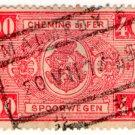 (I.B) Belgium Railways : Parcels 4 Fr (Malmedy 1938)