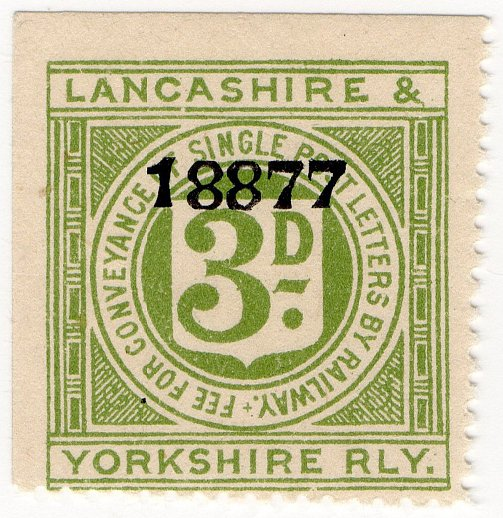 (I.B) Lancashire & Yorkshire Railway : Letter 3d