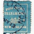 (I.B) New Zealand Telegraphs : Dispatch Label (Lyttelton 1913)