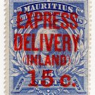 (I.B) Mauritius Postal : Express Inland Delivery 15c on 15c OP