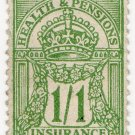 (I.B) George V Revenue : Health & Pensions Insurance 1/1d