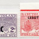 (I.B) Basutoland Postal : Postage Due Overprints Collection