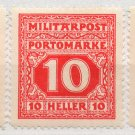 (I.B) Austria Postal : Military Post Collection