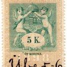 (I.B) Austria/Hungary Revenue : Stempelmarke 5k