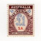 (I.B) Australia - South Australia Revenue : Tax Instalment £1