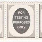 (I.B) Cinderella Collection : Harrison Machine Testing Stamps