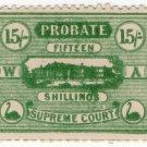 (I.B) Australia - Western Australia Revenue : Probate 15/-
