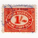 (I.B) Australia - South Australia Revenue : Swine Stamp Duty 1/-